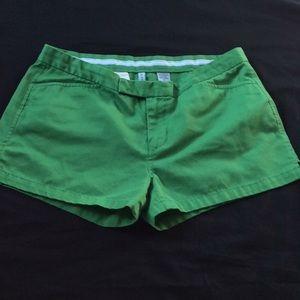 Abercrombie & Fitch Women's Shorts 4 Green A&F EUC